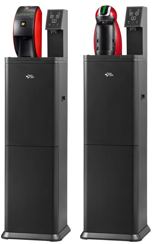 日本初!ウォーターサーバーとコーヒーマシンの一体型モデルAQUA WITH誕生!!